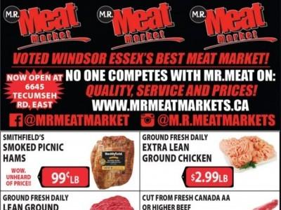 M.R. Meat Market Flyer Thumbnail
