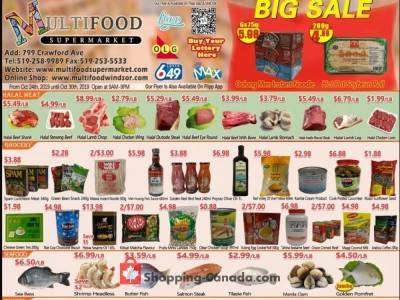 MultiFood Supermarket Outdated Flyer Thumbnail