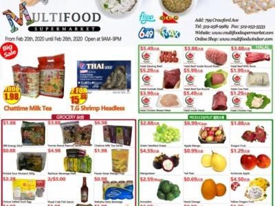 MultiFood Supermarket Flyer Thumbnail