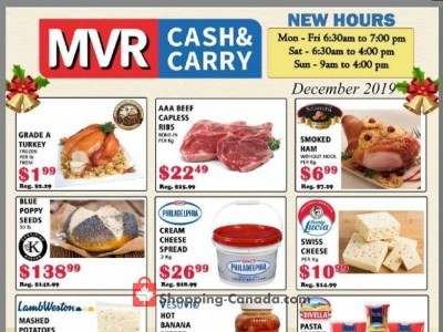 MVR Cash & Carry Outdated Flyer Thumbnail