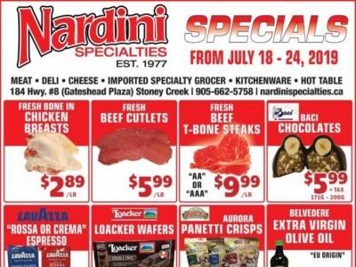 Nardini Specialties Flyer Thumbnail
