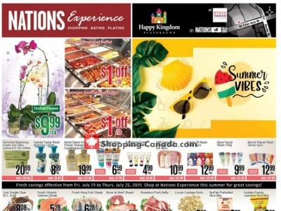 Nations Fresh Foods Flyer Thumbnail
