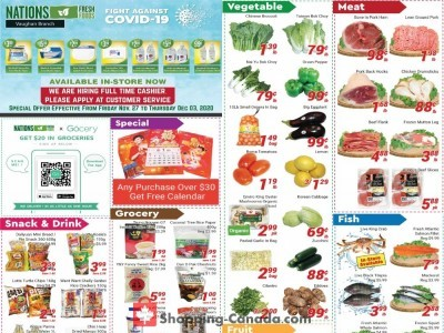 Nations Fresh Foods Flyer Thumbnail