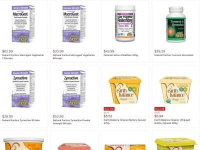 Natural Food Pantry Flyer Thumbnail