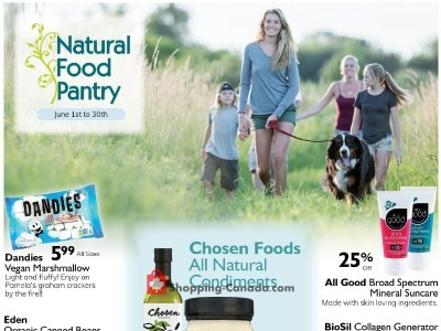 Natural Food Pantry Outdated Flyer Thumbnail