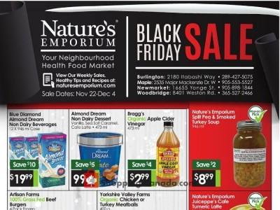 Nature's Emporium Outdated Flyer Thumbnail