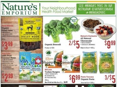 Nature's Emporium Flyer Thumbnail