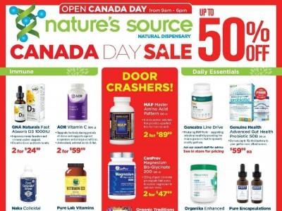 Nature's Source Flyer Thumbnail
