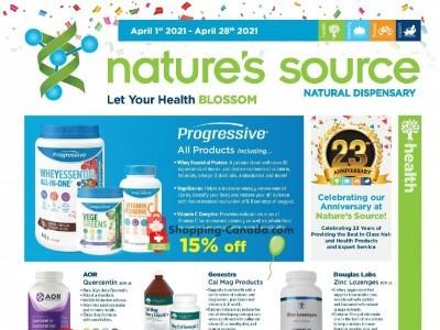 Nature's Source Flyer Thumbnail