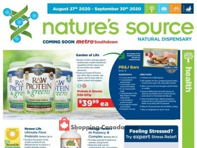 Nature's Source Outdated Flyer Thumbnail
