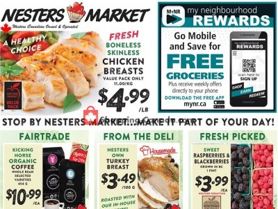 Nesters Market Grocery Stores Flyer Thumbnail