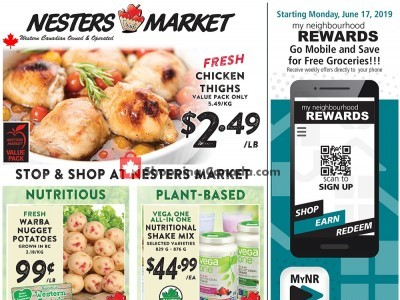 Nesters Market Grocery Stores Outdated Flyer Thumbnail