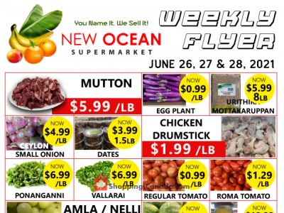 New Ocean Supermarket Outdated Flyer Thumbnail