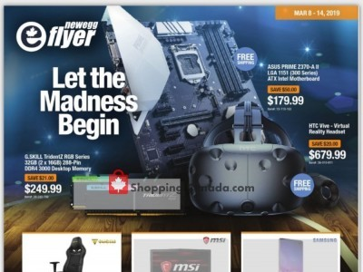 Newegg Outdated Flyer Thumbnail