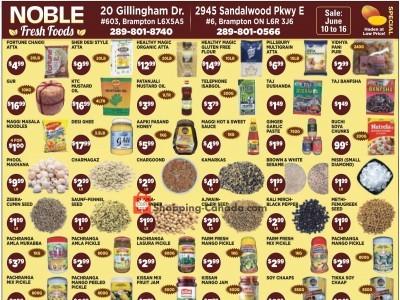 Noble Fresh Foods Flyer Thumbnail
