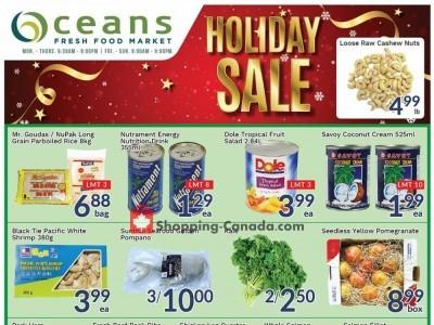 Oceans Fresh Food Market Flyer Thumbnail
