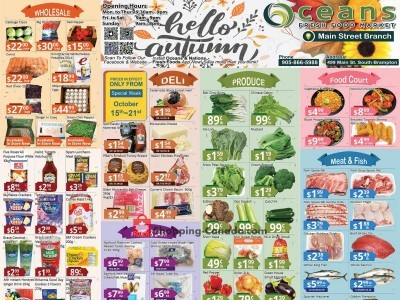 Oceans Fresh Food Market Outdated Flyer Thumbnail