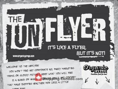 Organic Garage Flyer Thumbnail