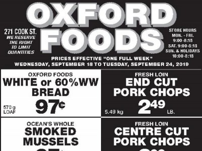 Oxford Foods Flyer Thumbnail