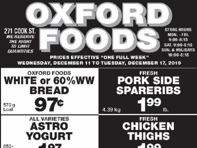 Oxford Foods Outdated Flyer Thumbnail