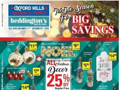 Oxford Mills Bedding & Towels Flyer Thumbnail