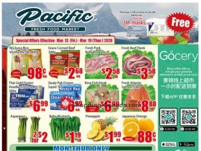 Pacific Fresh Food Market Flyer Thumbnail