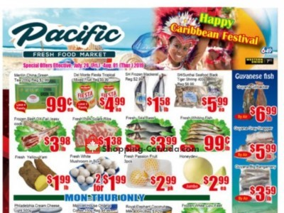Pacific Fresh Food Market Outdated Flyer Thumbnail