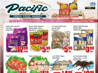 Pacific Fresh Food Market Flyer Thumbnail