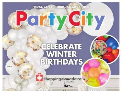 Party City Flyer Thumbnail