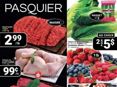 Pasquier Outdated Flyer Thumbnail