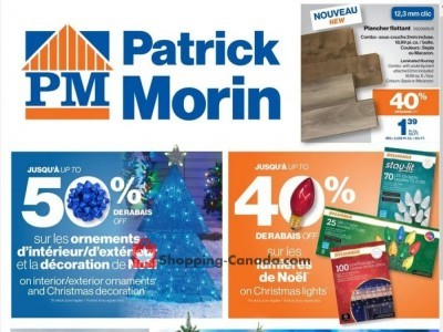 Patrick Morin Outdated Flyer Thumbnail