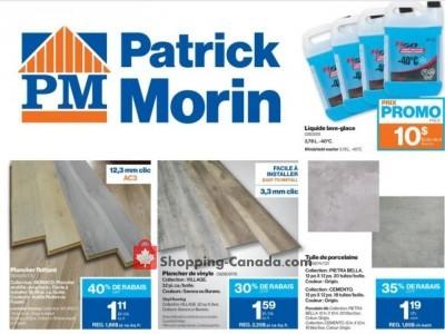 Patrick Morin Flyer Thumbnail