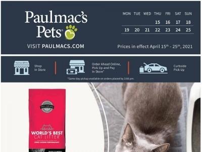 Paulmac's Pets Flyer Thumbnail