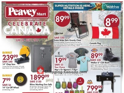 Peavey Mart Outdated Flyer Thumbnail