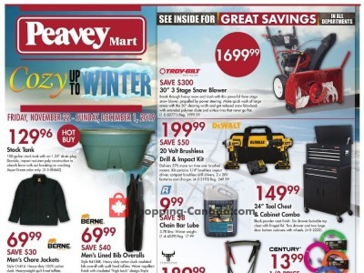 Peavey Mart Flyer Thumbnail