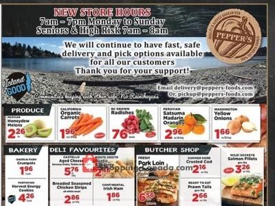 Pepper's Foods Flyer Thumbnail