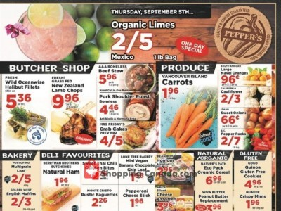Pepper's Foods Outdated Flyer Thumbnail