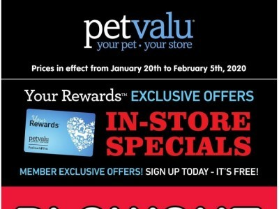 Pet Valu Flyer Thumbnail
