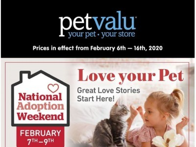 Pet Valu Outdated Flyer Thumbnail