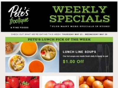 Pete's Fine Foods Flyer Thumbnail