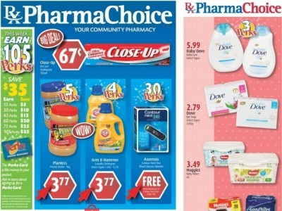 Pharma Choice Outdated Flyer Thumbnail