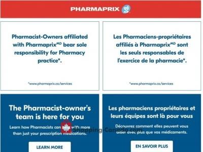 Pharmaprix Flyer Thumbnail