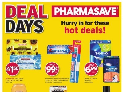 Pharmasave Outdated Flyer Thumbnail