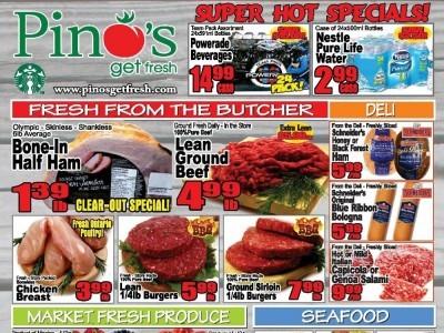 Pino's Flyer Thumbnail