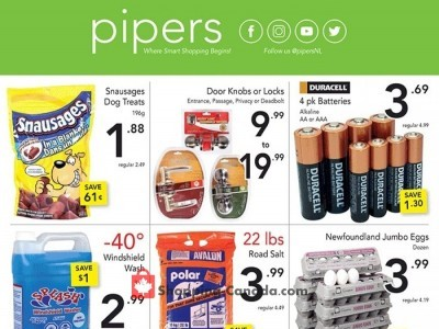 Pipers Superstore Outdated Flyer Thumbnail