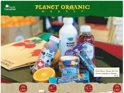 Planet Organic Market Outdated Flyer Thumbnail
