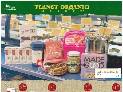 Planet Organic Market Flyer Thumbnail