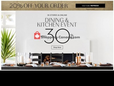 Pottery Barn Flyer Thumbnail