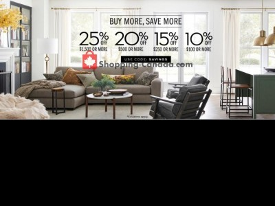 Pottery Barn Outdated Flyer Thumbnail