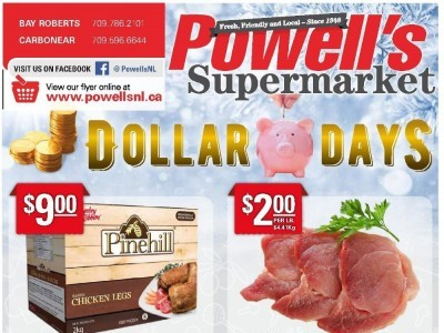 Powell's Supermarket Outdated Flyer Thumbnail
